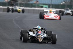 Lotus 88 en el desfile del 70º aniversario de Silverstone