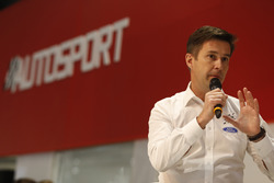 Maciej Woda talks to Henry Hope-Frost on the Autosport Stage