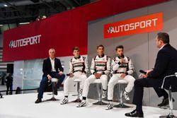 Derek Warwick, Dan Ticktum, Harrison Scott and Max Fewtrell talk to Henry Hope-Frost on the Autospor