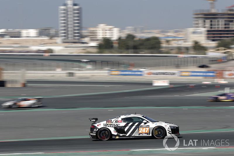 #247 Phoenix Racing Audi R8 LMS GT4: Adderly Fong, Marchy Lee, Shaun Thong, Darryl O'Young, Charles Kwan