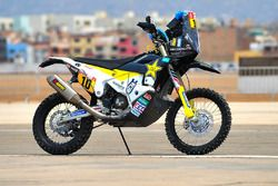 Bike of #10 Husqvarna Factory Racing: Pablo Quintanilla