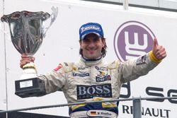 Podium: race 2 winner Markus Winkelhock, Drago Multiracing