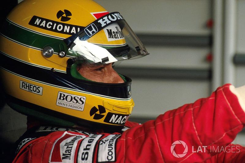 Ayrton Senna, McLaren MP4/5B