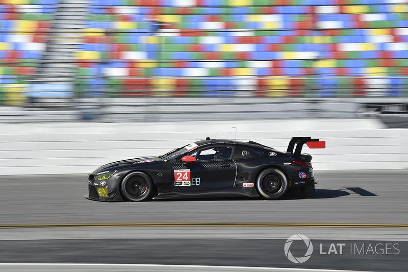#24 BMW Team RLL BMW M8 GTLM: John Edwards, Jesse Krohn, Nicky Catsburg, Augusto Farfus, Colton Herta