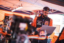 Red Bull KTM Factory Racing in het bivak