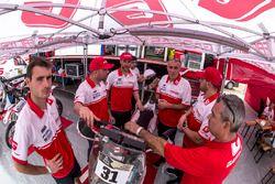 Jonathan Barragán, Johnny Aubert e Cristian España, GasGas Rally Team