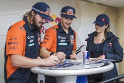 Toby Price, Sam Sunderland, Red Bull KTM Factory Team