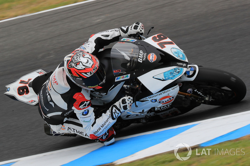 2d3b67b57 Loris Baz, Althea Racing at Phillip Island February testing - World ...