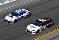 Brendan Gaughan, Beard Motorsports Chevrolet Camaro, Jeffrey Earnhardt, StarCom Racing Chevrolet Cam