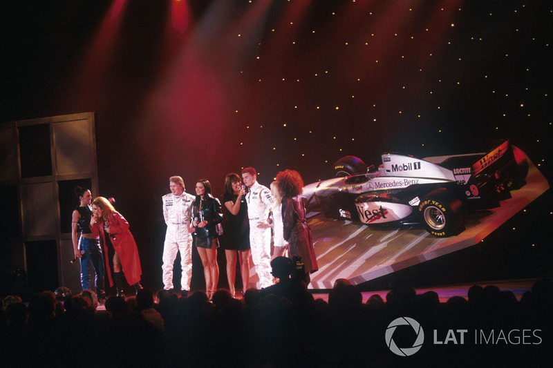 1: McLAREN GRABS THE SPICE GIRLS