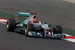 Michael Schumacher, Mercedes F1 W03