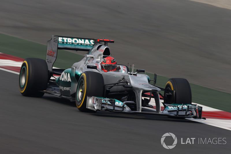 2012: Mercedes - 13º, 49 puntos, 20 carreras