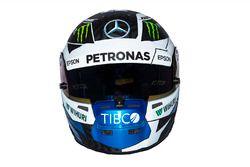 Helmet of Valtteri Bottas, Mercedes AMG F1