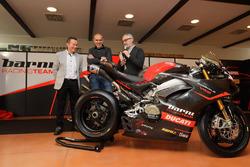 Ducati Panigale V4 del Barni Racing Team per il National Trophy