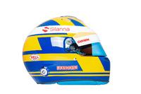 El casco de Marcus Ericsson, Sauber