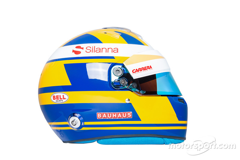 Marcus Ericsson'ın kaskı, Sauber