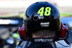 Jimmie Johnson, Hendrick Motorsports Chevrolet Camaro casco del equipo