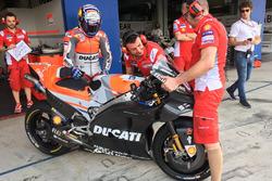 Andrea Dovizioso, Ducati Team with fairing