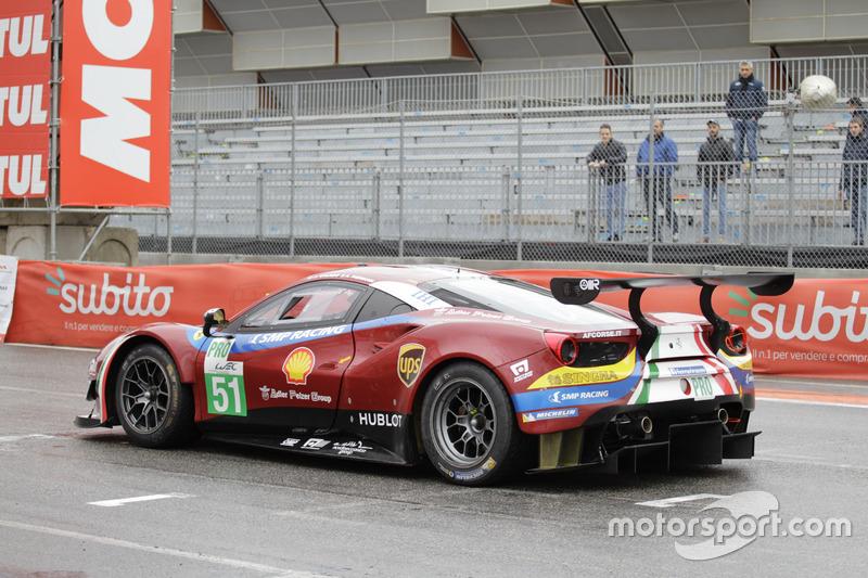 AF Corse, Ferrari 488 GTE: Davide Rigon, Alessandro Pier Guidi, Miguel Molina, Giancarlo Fisichella