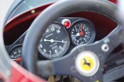 Dettaglio del contagiri della Ferrari 312 B3