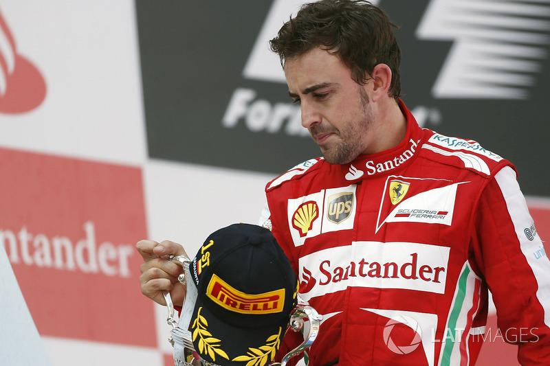 Fernando Alonso 1755 días