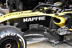 Renault Sport F1 Team RS18, dettaglio laterale