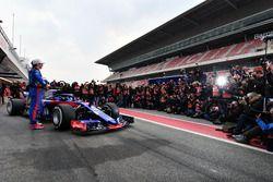 Pierre Gasly, Scuderia Toro Rosso and Brendon Hartley, Scuderia Toro Rosso, the new Scuderia Toro Ro