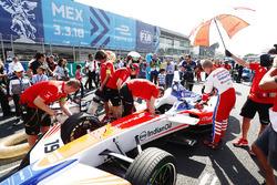 Felix Rosenqvist, Mahindra Racing, sur la grille