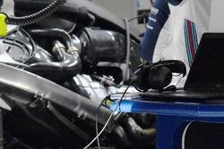 Williams FW41, dettaglio del motore