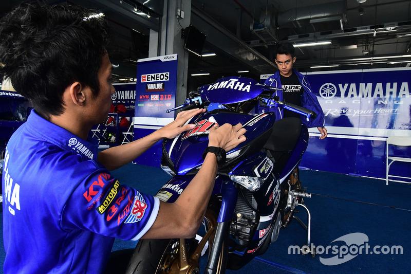 Wahyu Aji Trilaksana dan M Faerozi, Yamaha Racing Indonesia