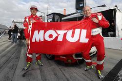 GTD Ganador de la pole #51 Spirit of Race Ferrari 488 GT3, GTD: Daniel Serra and Paul Dalla Lana