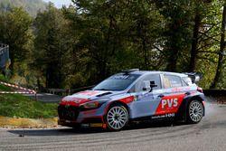 Pedro, Emanuele Baldaccini, Hyundai i20 R5, Car Racing