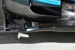 Mercedes-Benz F1 W08 aero detail