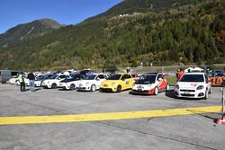 Abarth Trofeo Slalom, Ambrì, paddock