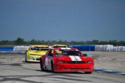 #10 TA2 Ford Mustang, Carlo Falcone of KMW Motorsports