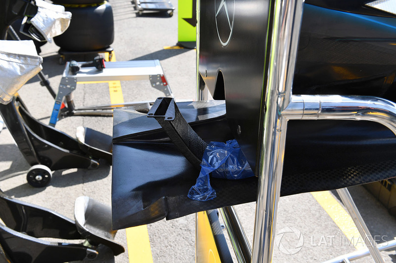 Mercedes-AMG F1 W09 EQ Power nose detail
