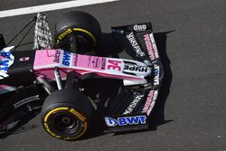 L'aileron avant 2019 sur la Force India VJM11