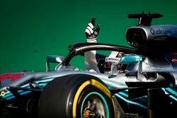 Winnaar Lewis Hamilton, Mercedes AMG F1