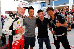 Ganador Ott Tanak, Toyota Gazoo Racing, Kazuki Nakajima, Kamui Kobayashi