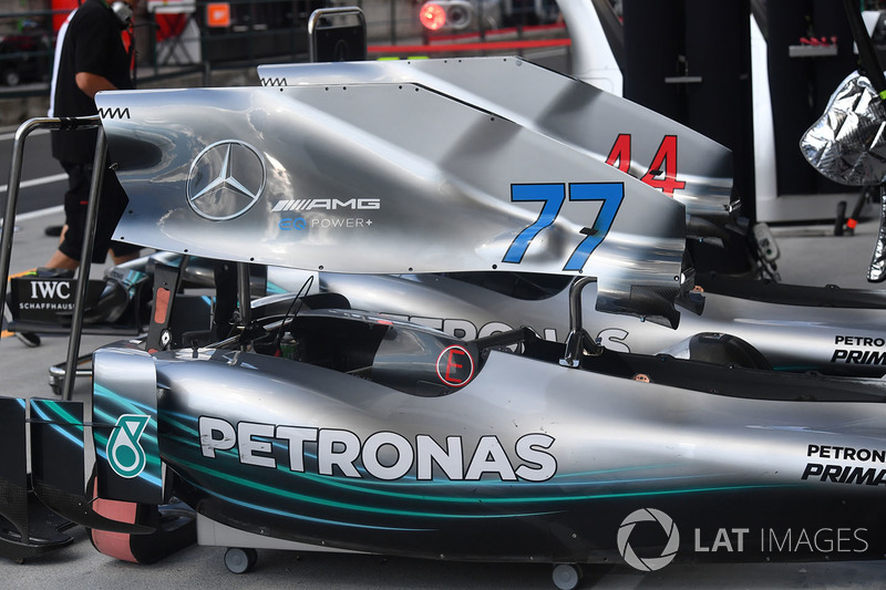 Mercedes-AMG F1 W09 carrocería