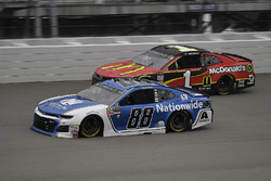 Alex Bowman, Hendrick Motorsports, Chevrolet Camaro Nationwide and Jamie McMurray, Chip Ganassi Raci