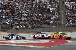 Joey Logano, Team Penske, Ford Fusion Shell Pennzoil Brad Keselowski, Team Penske, Ford Fusion Discount Tire