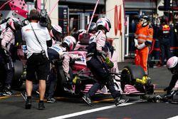 Abandon pour Sergio Perez, Force India VJM11