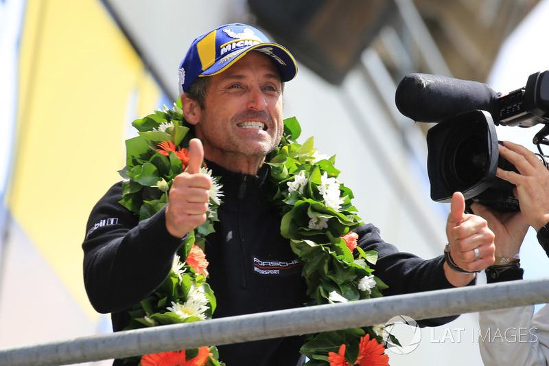 Patrick Dempsey Dempsey Proton Competition Bei 24h Le Mans 24h Le