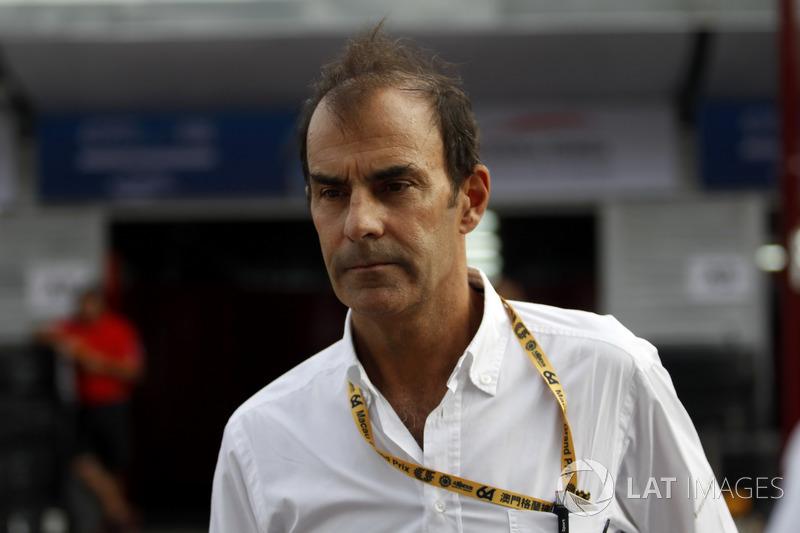 Emanuele Pirro, commissaire FIA