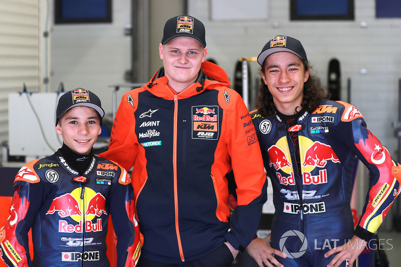 Deniz Öncü ve Can Öncü, ve Niklas Ajo, Red Bull KTM Ajo