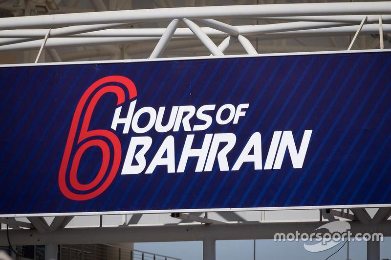 Tablero de las 6 Horas de Bahrein