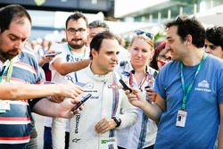 Felipe Massa, Williams FW40 na zijn laatste thuisrace