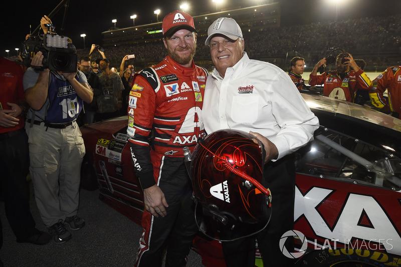 Dale Earnhardt Jr., Hendrick Motorsports Chevrolet, Car owner Rick Hendrick