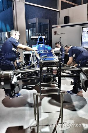 Sauber F1 Team au l'Auto Zurich le 1er novembre